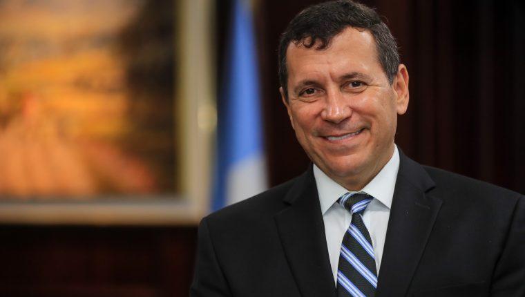 Luis Lara Grojec gerente general de BI explicó como la entidad enfrentó la crisis generada por los efectos de coronavirus en 2020. (Foto Prensa Libre: Juan Diego González)
