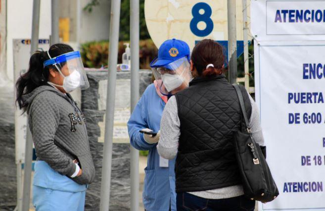Guatemala acumula más de 180 mil casos de coronavirus. (Foto Prensa Libre: Elmer Vargas)