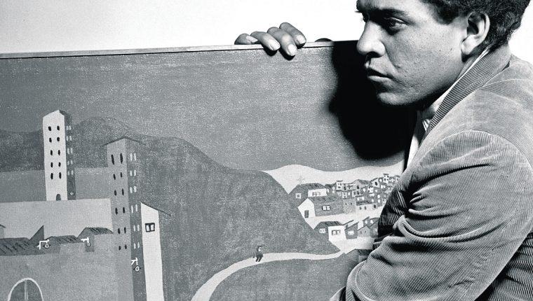 Francisco Tún impactó a la crítica de la época, pese a carecer de  una formación académica en las artes. (Foto Prensa Libre: Hemeroteca )