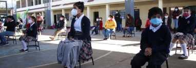 Cuatro municipios en naranja regresarán a clases a distancia. (Foto: María José Longo)