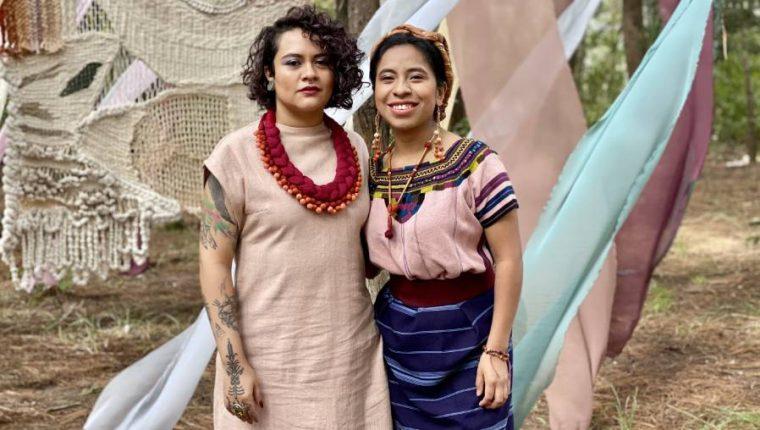 """Rebeca Lane y Sara Curruchich unen voces y energías y lanzan el tema """"Kixampe"""". (Foto Prensa Libre: Cortesía)"""