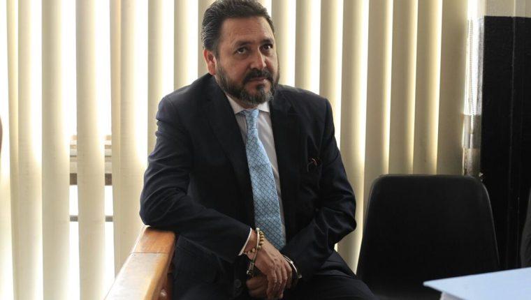 Gudy Rivera fue presidente del Congreso de la República durante el gobierno del Partido Patriota, entre el 2012 y 2013. (Foto HemerotecaPL)
