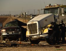 Cinco guatemaltecos viajaban en vehículo accidentado en California y dos murieron