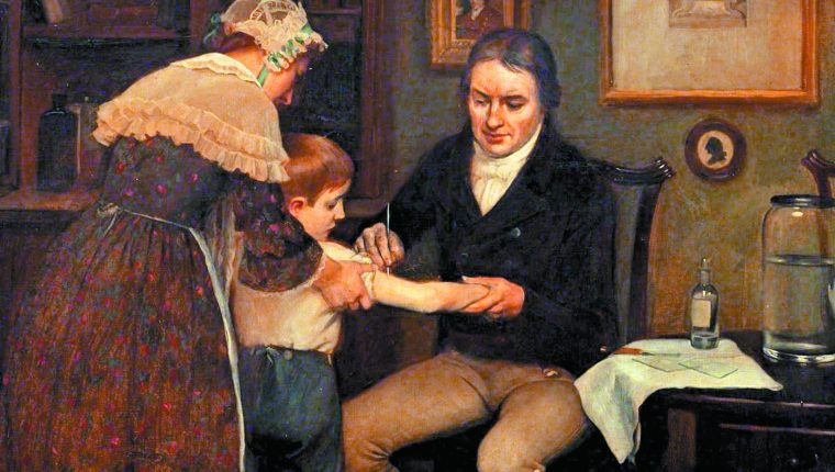 Primera vacuna en Guatemala