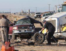 Dos migrantes guatemaltecas estarían entre las víctimas del accidente de tránsito en California