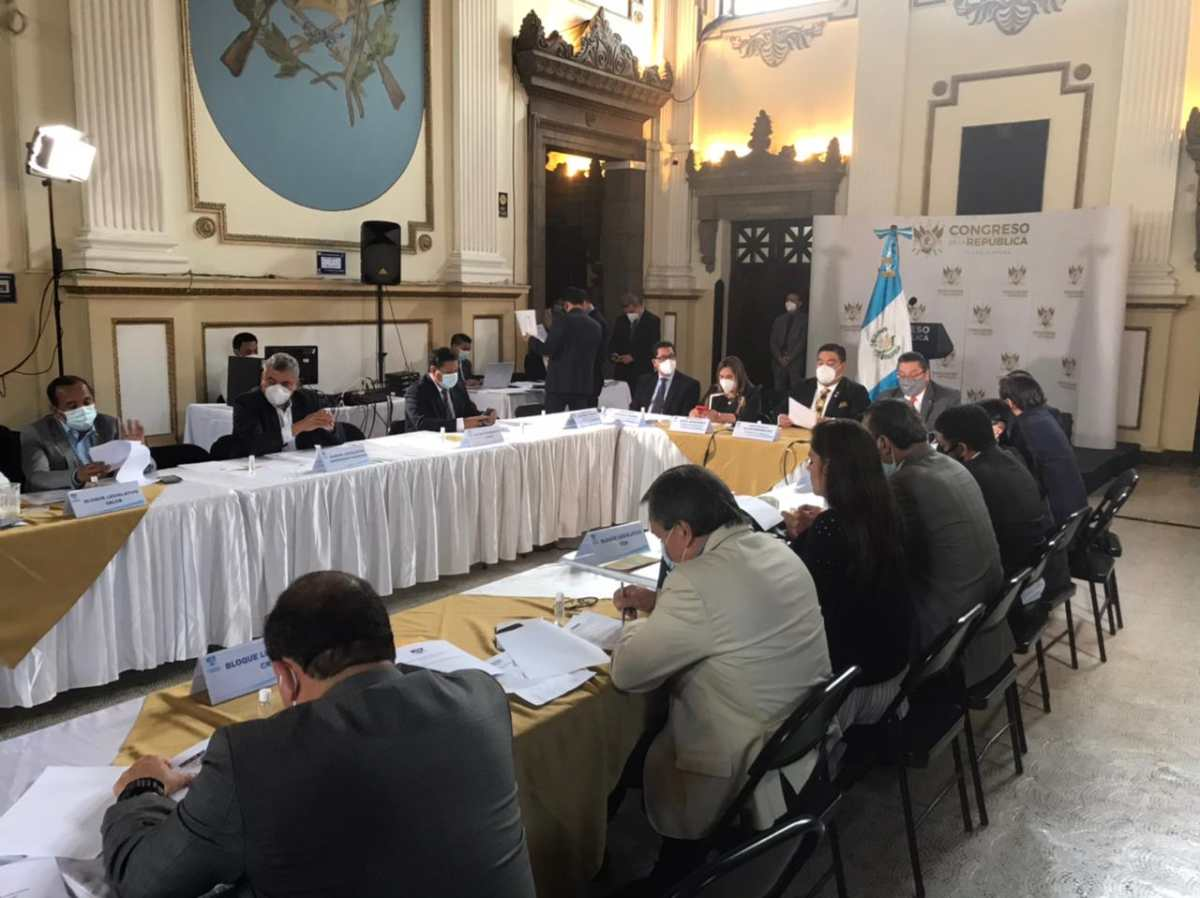 Alianza oficialista designará magistrados para la nueva Corte de Constitucionalidad