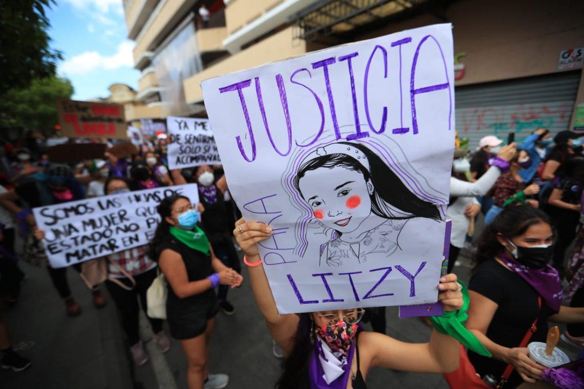 """8M: Marcha """"Vivas nos queremos"""" reclama derechos de las guatemaltecas en la víspera del Día Internacional de la Mujer"""