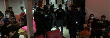 Los operativos son ejecutados en Chimaltenango y Escuintla. Foto Prensa Libre: PNC.