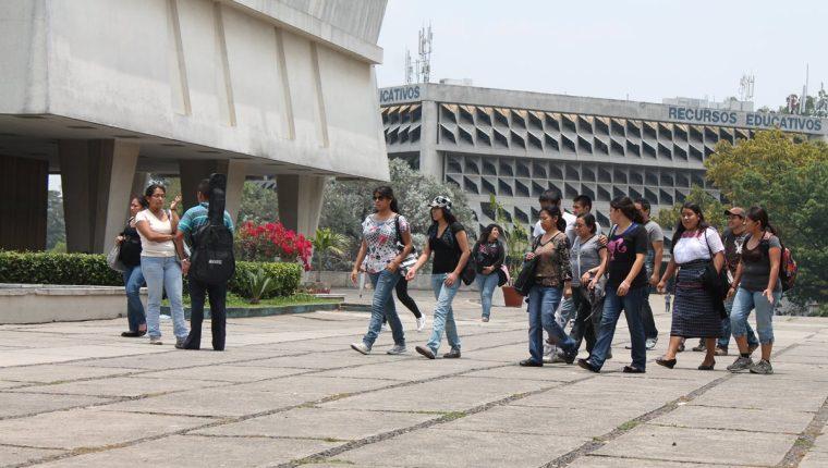 El acoso sexual será sancionado en la Usac. (Foto Prensa Libre: Hemeroteca PL)