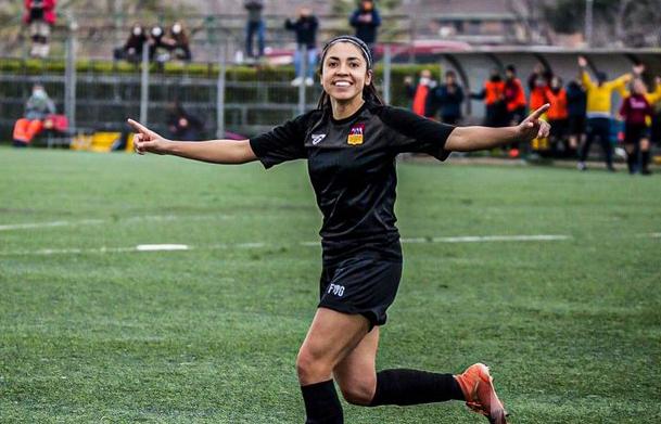 Ana Lucía Martínez celebra otra victoria de la Roma CF en el futbol italiano