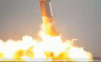 En imágenes: vea el momento en que explota otro prototipo de cohete de SpaceX