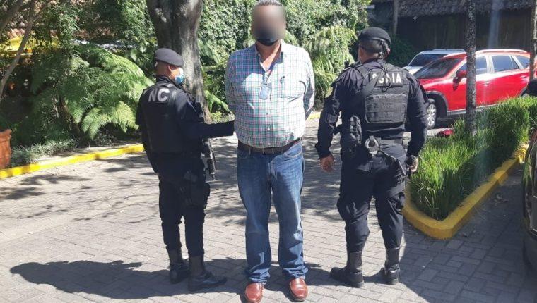 """Adalberto Fructuoso Comparán Rodriguez, alias """"Fruto"""", fue alcalde municipal de Aguililla, Michoacán, México. (Foto Prensa Libre: PNC)"""