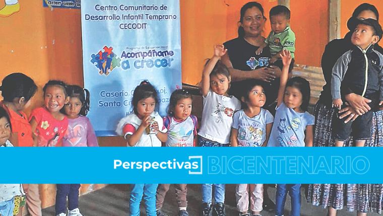 El Programa Acompáñame a Crecer cuenta con gestores que surpervisan el proceso integral de desarrollo de las madres con sus hijos. Foto: Cortesía de Alianza por la Nutrición