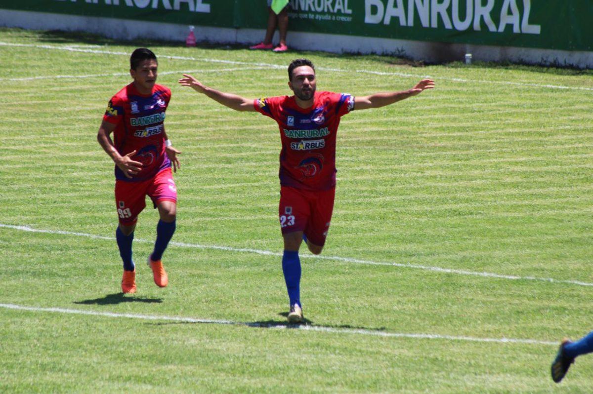Carlos Kamiani Félix le da a Iztapa el triunfo sobre Xelajú MC