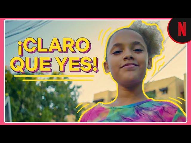 """""""Claro que yes"""", el video viral de cuatro niñas que las llevó a protagonizar una campaña de Netflix"""