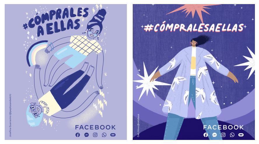 #CómpralesAEllas: el movimiento que lanza Facebook para impulsar a emprendedoras
