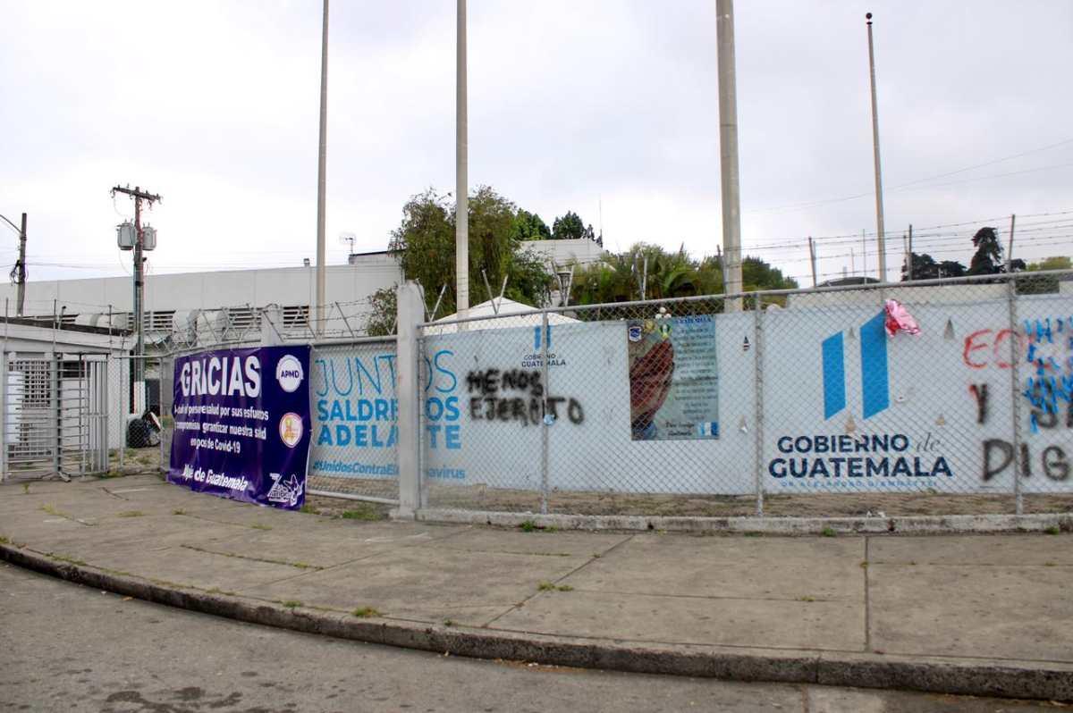 1 año de coronavirus: Así luce el hospital temporal Parque de la Industria