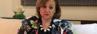 Cristina Gallach, Secretaria de Estado de España para Iberoamérica y El Caribe, visitó Guatemala, en un periplo que también la llevó a México, El Salvador, Costa Rica y Panamá. (Foto Prensa Libre: Elmer Vargas)