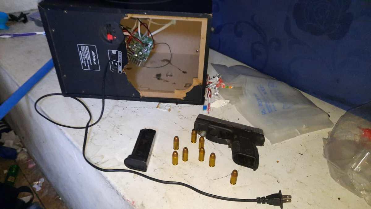 Incautan armas de fuego en Matamoros a pandilleros con condenas de hasta 1 mil 670 años