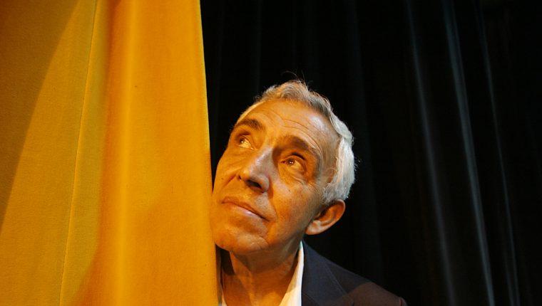 Herbert Menses ha sido uno de los íconos del teatro guatemalteco.  (Foto Prensa Libre:  Hemeroteca Prensa Libre).
