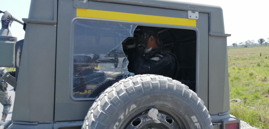 Atacan a balazos a unidad del Ejército que efectuaba tareas de erradicación de marihuana en Petén
