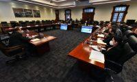 Alejandro Giammattei sesionará con todos sus ministros para designar jueces constitucionales. (Foto: Hemeroteca PL)