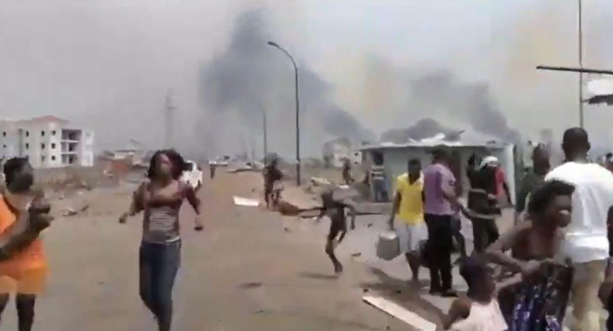 Videos: brutales explosiones dejan 17 muertos y 420 heridos en Guinea Ecuatorial