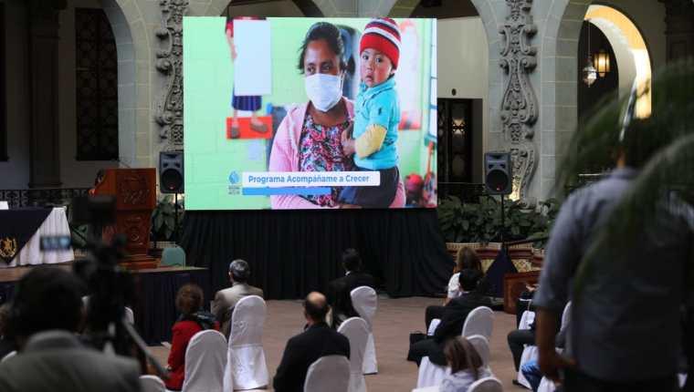 Presentación de resultados de la Gran Cruzada por la Nutrición. (Foto: Presidencia)