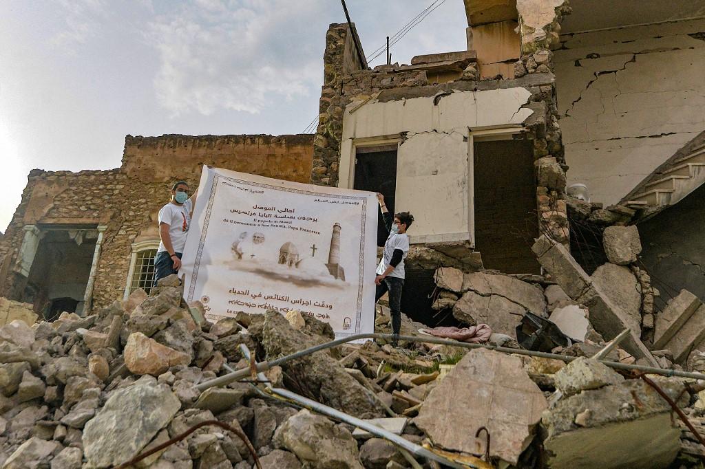 Diez cohetes contra una base en Irak con tropas de EE. UU. a dos días de visita del Papa