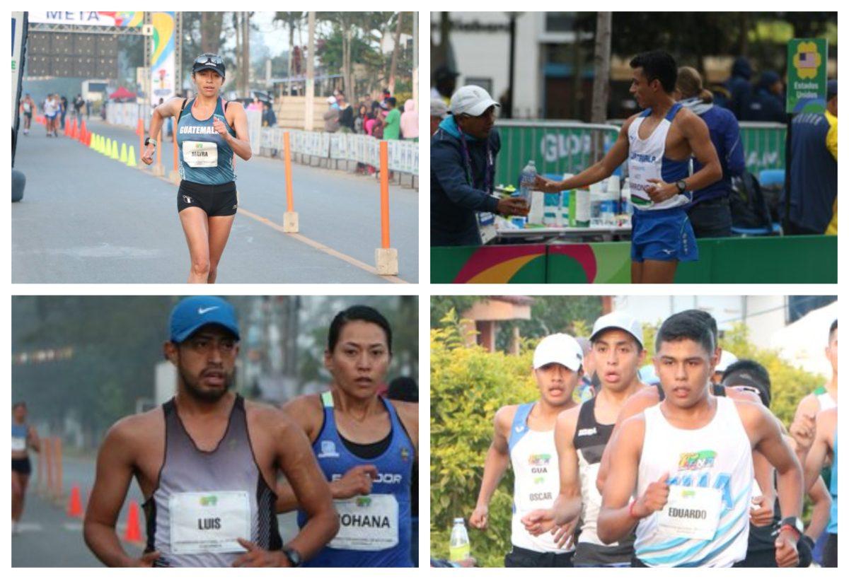 Cuatro marchistas guatemaltecos logran la marca clasificatoria a los Juegos Olímpicos de Tokio