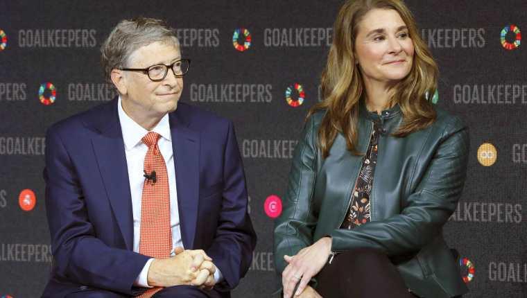 Bill y Melinda han donado millones para vacunas y tratamientos contra el coronavirus. (Foto Prensa Libre: AFP)