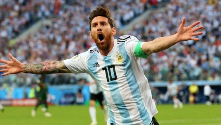 Lionel Messi es considerado uno de los grandes líderes de la Selección de Argentina. (Foto Prensa Libre).
