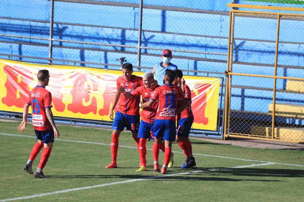 Britos marca doblete y le da a Municipal su primera victoria en el Clausura 2021 después de imponerse 3-1 a Sanarate
