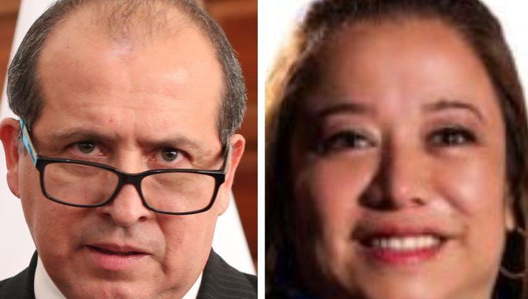 La elección de Néster Vásquez como magistrado titular y Claudia Paniagua como magistrada suplente está pendiente de quedar firme por un amparo presentado el 19 de mayo. (Foto: Hemeroteca PL).