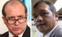Nester Vásquez y Francisco Rivas, solo uno será magistrado titular de la CC. (Foto: Hemeroteca PL)