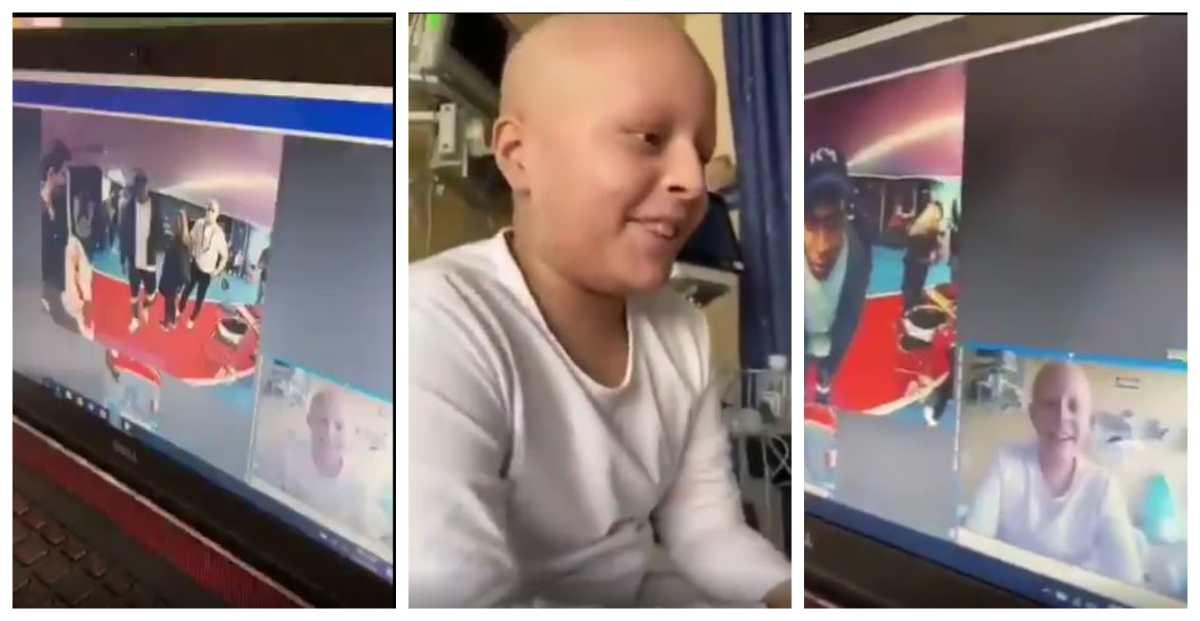 """""""Hay que ganar la Champions"""": la charla en español de Kylian Mbappé con un niño peruano que lucha contra la leucemia"""