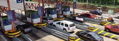 Siva asegura que durante la Semana Santa esperan el paso de más de 30 mil vehículos diarios. (Foto Prensa Libre: Siva)