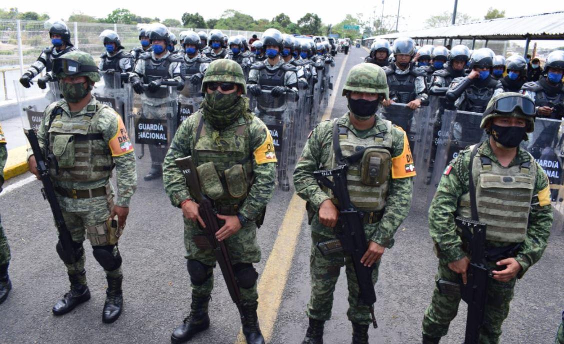 Guatemala y México destacan militares en la frontera entre ambos países por la crisis migratoria y sanitaria por el coronavirus