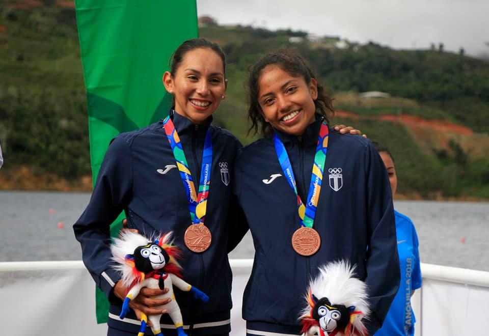Las atletas de remo Yulissa López y Jenniffer Zúñiga clasifican a los Olímpicos de Tokio