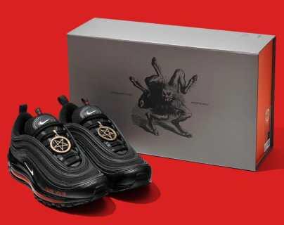 """""""Tenis de satán"""": la polémica que provocó un rapero al lanzar unos zapatos con sangre humana"""