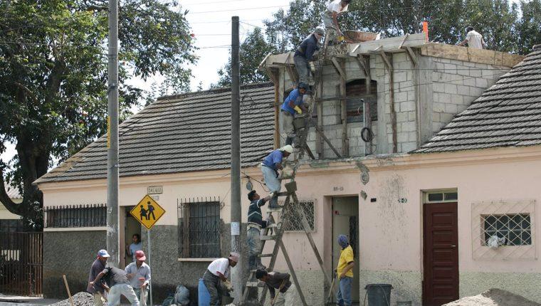 Las razones por las que las viviendas pasan un tiempo vacías son diversas y es un dato dinámico , exponen conocedores del tema. (Foto, Prensa Libre: Hemeroteca PL).