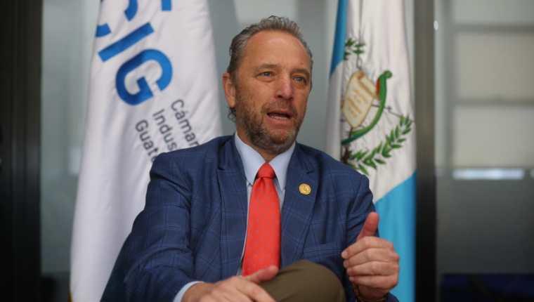 Javier Zepeda, director ejecutivo de la Cámara de Industria de Guatemala. (Foto: Juan Diego González)