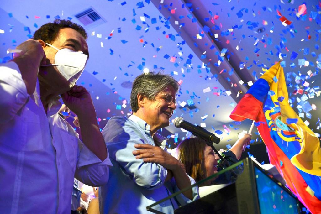 Guillermo Lasso vence al correísmo y es el presidente electo de Ecuador