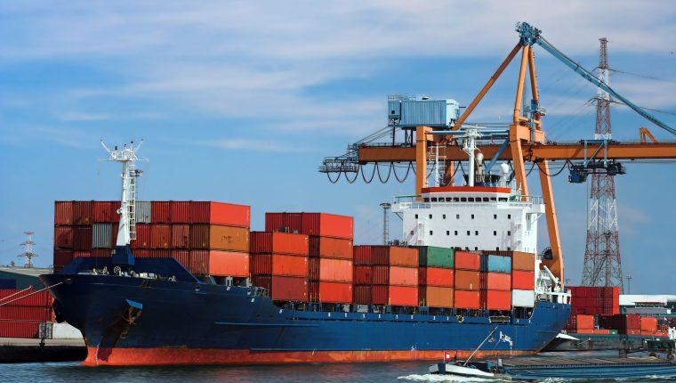 Los fletes marítimos de Guatemala comparados con los de otros países son elevados en algunos puertos. (Foto Prensa Libre: Cortesía Agexport)