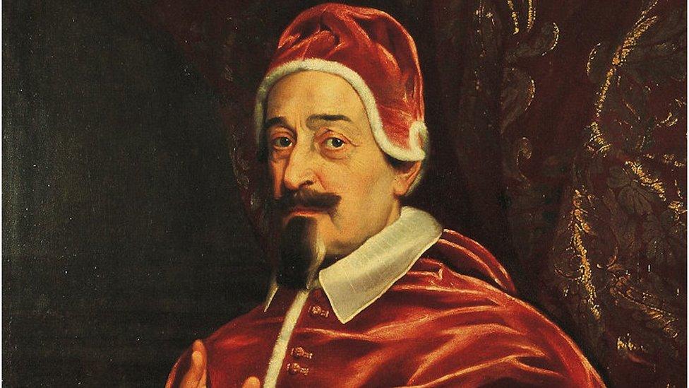 El papa que decretó un confinamiento y salvó a Roma de la peste en el siglo XVII