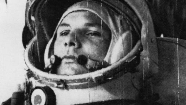 Yuri Gagarin fue el primer ser humano en llegar al espacio.