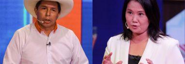 Castillo y Fujimori se enfrentarán el domingo 6 de junio en la segunda vuelta.
