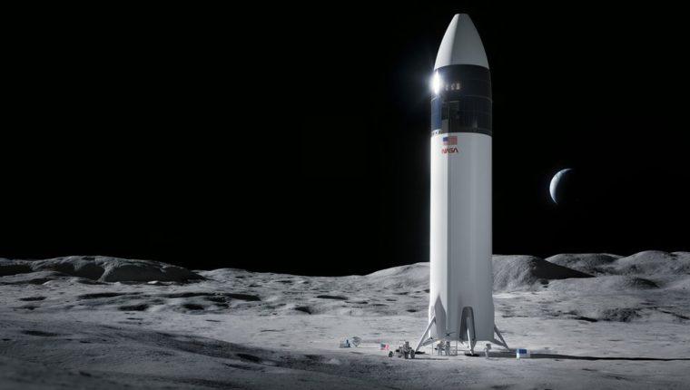 El vehículo está basado en el diseño Starship de SpaceX.