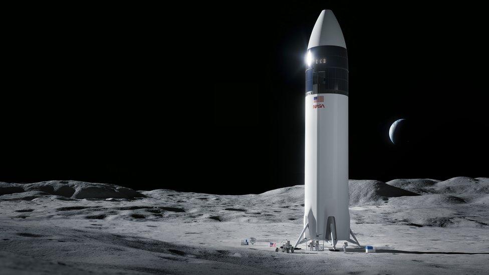SpaceX: la NASA selecciona a la empresa de Elon Musk para construir la nave con la que regresará a la Luna