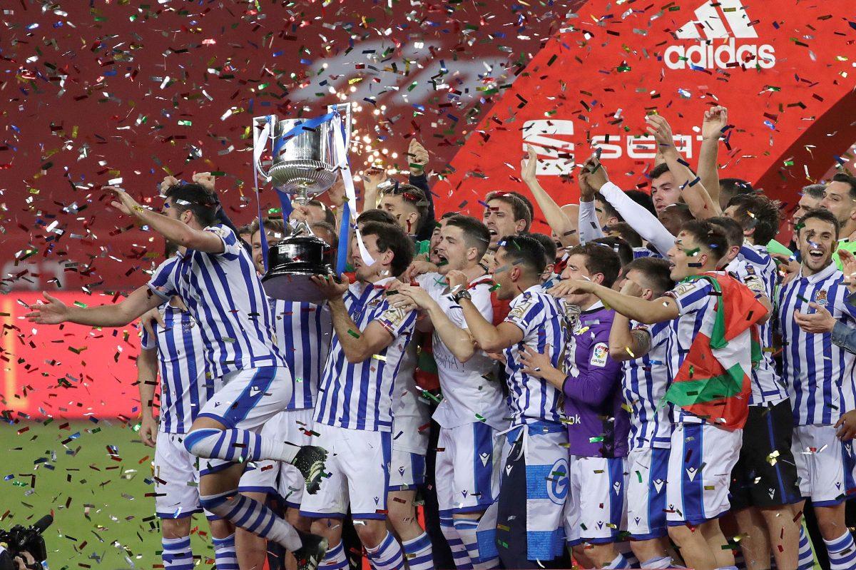 La Real Sociedad supera al Athletic Club y logra su tercer título de Copa